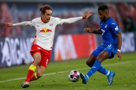 Resultado foi ruim para o RB Leipzig (Foto: ODD ANDERSEN / AFP)