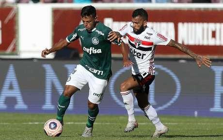 Gabriel Menino será ausência do Verdão no Choque-Rei do primeiro turno deste Brasileirão (Foto: Cesar Greco/Palmeiras)
