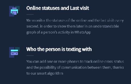 Site monitora status online no WhatsApp