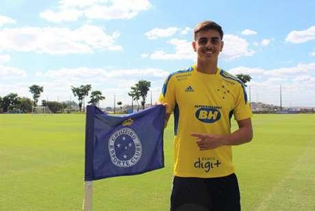 Weverton estava no time sub-18 há poucos meses e agora virou titular na Raposa-(Daniel Hott/Cruzeiro)
