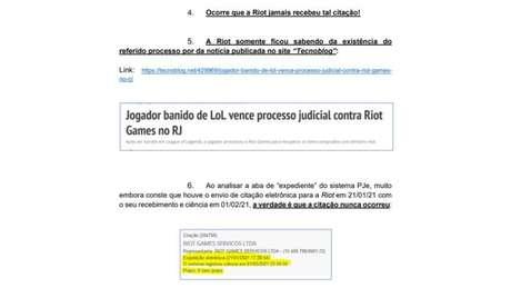 Riot Games afirma não ter sido citada no processo