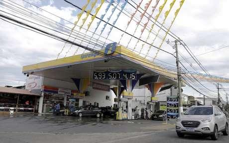 Posto de combustíveis no Rio de Janeiro (RJ)  05/03/2021 REUTERS/Ricardo Moraes