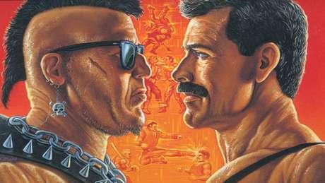 Capa do Final Fight para SNES