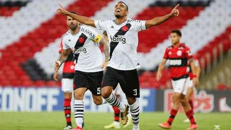 Léo Matos foi um dos destaques da vitória do Vasco sobre o Flamengo (Foto: Rafael Ribeiro/Vasco da Gama)