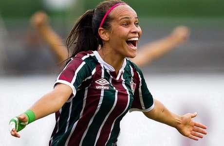 Letícia Ferreira é jogadora do time principal feminino do Fluminense (Foto: Mailson Santana / Fluminense FC)