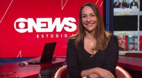 Maria Beltrão garante a diversão dos colegas no estúdio e do público ao rir das próprias gafes