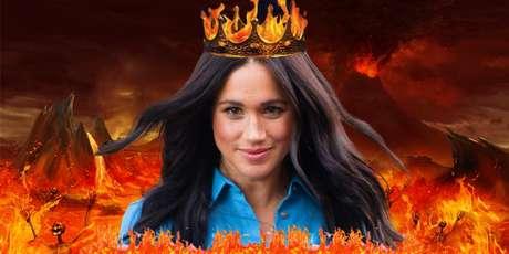 Ela é o diabo? Parte dos tabloides considera Meghan uma influência maligna sobre o marido, príncipe Harry