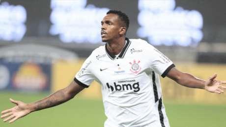 Jô não vai às redes há sete jogos (Foto: Rodrigo Coca/Ag.Corinthians)