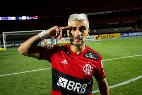 Arrascaeta viveu semana conturbada no Flamengo (Foto: Alexandre Vidal/Flamengo)