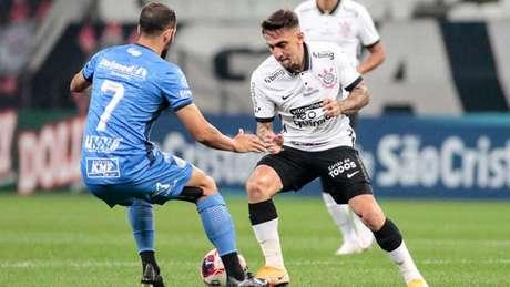 São Bento esteve na frente do placar até sofrer um gol de pênalti (Foto: Rodrigo Coca/Agência Corinthians)