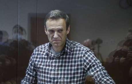 Navalny está preso desde 26 de fevereiro em uma colônia penal