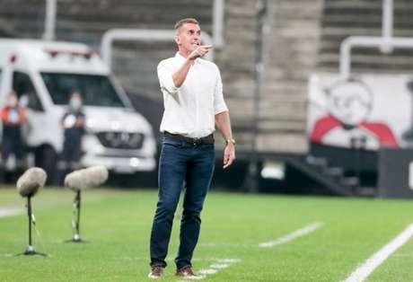 Vagner Mancini reconheceu os erros do Corinthians contra o São Bento (Foto: Rodrigo Coca/Ag. Corinthians)