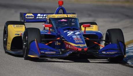 Alexander Rossi foi o mais rápido do TL2 no Alabama