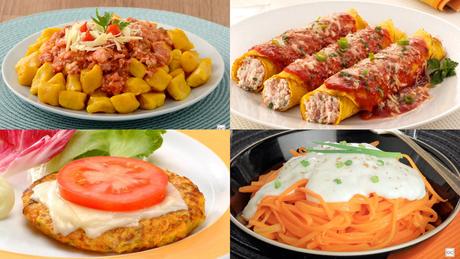 Receitas deliciosas com cenoura