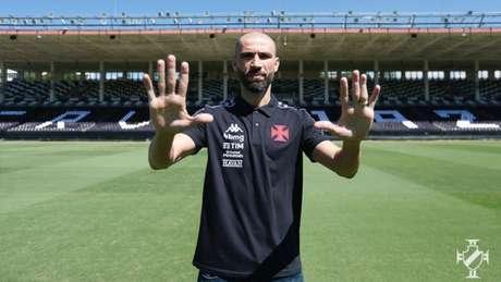 O goleiro Vanderlei assinou contrato com o Vasco até o final deste ano (Rafael Ribeiro/Vasco)