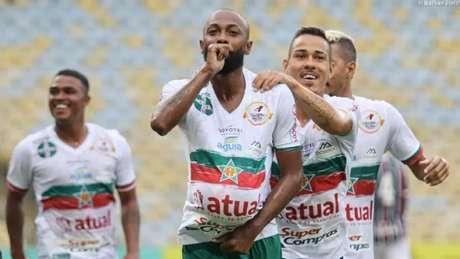 Chay é um dos destaques da boa campanha da Portuguesa e será pai em breve (Foto: Nathan Diniz / Portuguesa-RJ)