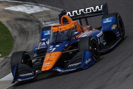 Felix Rosenqvist andou bem com a McLaren