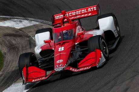 Marcus Ericsson colocou a Ganassi em segundo