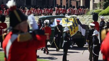 Houve um minuto nacional de silêncio pela morte do duque de Edimburgo