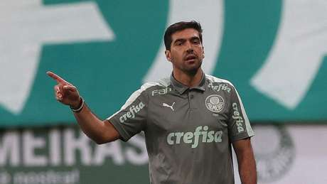 Abel Ferreira comandou o Verdão no primeiro Choque-Rei da temporada 2021 (Foto: Cesar Greco/Palmeiras)