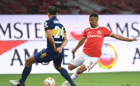 Na Libertadores de 2020, o Internacional caiu para o Boca Juniors (ARG) nas oitavas de final (Foto: Divulgação/SC Internacional)