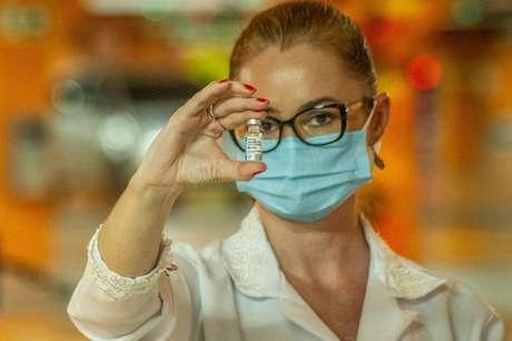 Vacinação contra a covid-19 no País