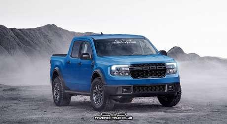 Ford Maverick Raptor: já surgem as primeiras ideias de versões para a nova picape.