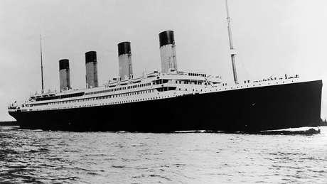 O malfadado Titanic afundou em 1912