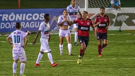 Pedro marcou os dois gols do Flamengo neste sábado (Foto: Marcelo Cortes / Flamengo)