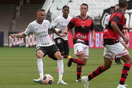 Em 2020, Corinthians e Ituano foi o primeiro jogo do Timão sem torcida, por conta da Covid-19 (Foto:Daniel Augusto Jr./Ag. Corinthians)
