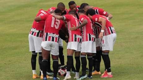 São Paulo se prepara para a Libertadores (Foto: Divulgação / SPFC)