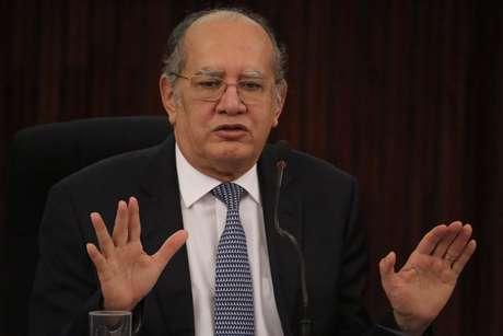 Gilmar Mendes, ministro do Supremo Tribunal Federal, durante II Encontro Nacional dos Grupos de Monitoramento e Fiscalização do Sistema Carcerário (GMFs)