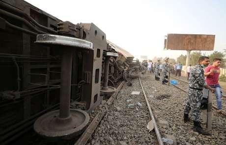 Cena do local do acidente 18/04/2021 REUTERS/Mohamed Abd El Ghany