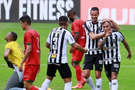 Vargas marcou na vitória do Atlético-MG