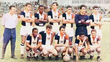 Camisa homenagearia time de 1966 (Foto: Divulgação)