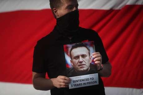 Navalny está preso em colônia penal desde o fim de fevereiro
