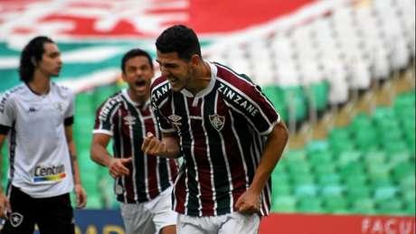 Nino fala de importância de empate fora de casa na Libertadores. MAILSON SANTANA/FLUMINENSE FC