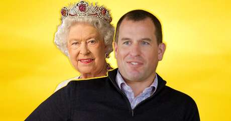 A rainha Elizabeth já teve muita dor de cabeça com seu primeiro neto, Peter