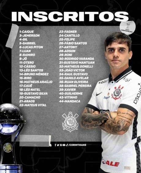 O Corinthians vai estrear na quinta-feira, no Paraguai (Foto: Reprodução)