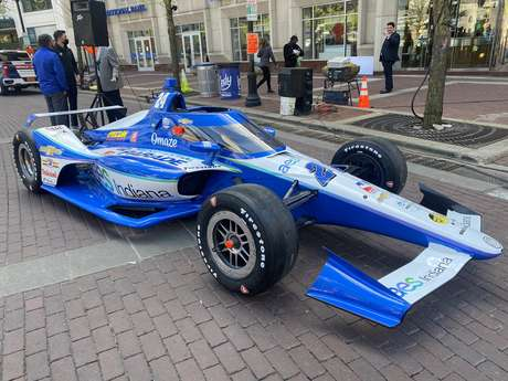 Sage Karam vai disputar mais uma vez a Indy 500 com a DRR