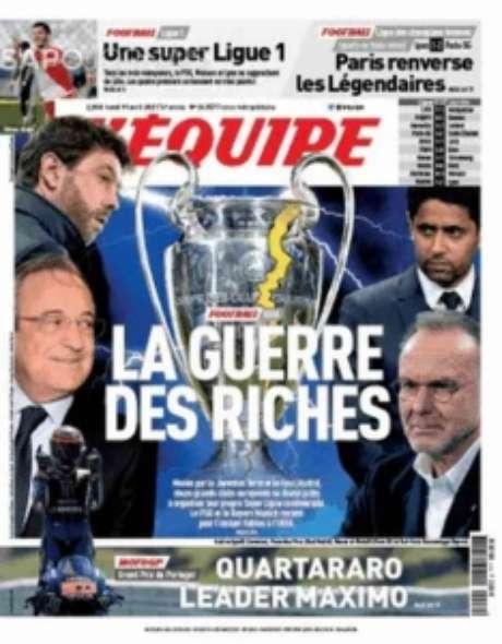 França também destaca guerra no esporte (Reprodução)