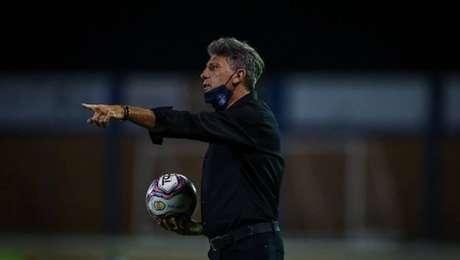 Renato Gaúcho agradece ao Grêmio após deixar o clube