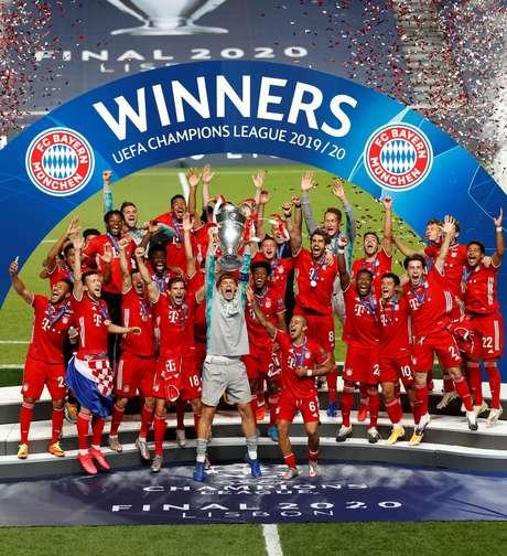 Bayern de Munique, atual campeão da Champions League
