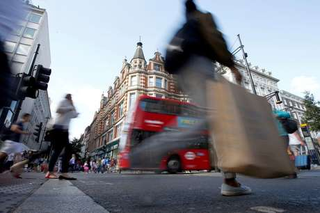 Oxford Street, em Londres.  REUTERS/Peter Nicholls/File Photo