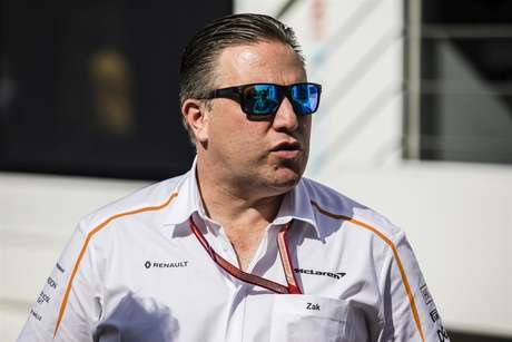 CEO da McLaren, Zak Brown.