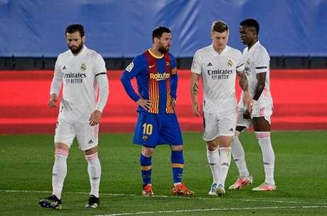 Real Madrid e Barcelona fazem parte da Superliga Europeia (JAVIER SORIANO / AFP)