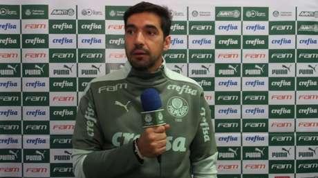 Abel Ferreira não vence há quatro jogos no Palmeiras (Foto: Reprodução)