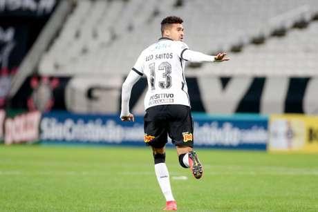 Léo Santos entrou no lugar de Luan, nos acréscimos do jogo contra o Ituano (Foto: Rodrigo Coca/Ag.Corinthians)