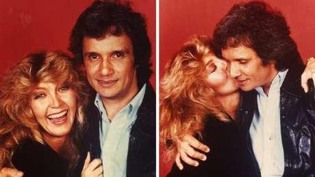 """Roberto e Wanderléa são amigos desde 1963. """"Deus foi muito gentil ao colocar do meu lado um amigo tão especial"""", derrama-se a cantora"""