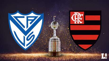 Vélez Sarsfield e Flamengo abrem o Grupo G da Copa Libertadores nesta terça, em Buenos Aires (Arte Lance!)